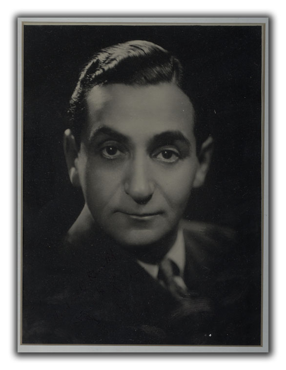 Inscribed Portait Photograph