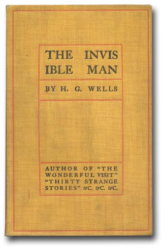 The Invisible Man. H. G. WELLS.