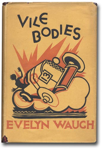 Image result for Vile Bodies by Evelyn Waugh