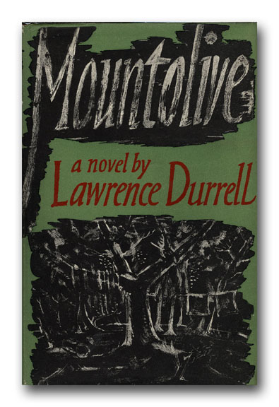 Mountolive. LAWRENCE DURRELL.