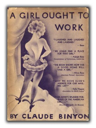 A Girl Ought to Work. HOLLYWOOD NOVELS, CLAUDE BINYON
