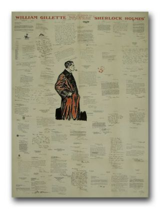 Letters of Tribute to William Gillette On The Occasion of His Farewell to the Stage In His Famous...